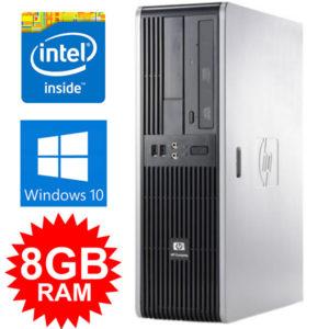 HP w 8GB Ram