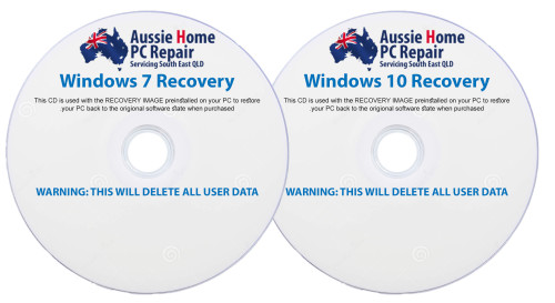 Recovery CD's